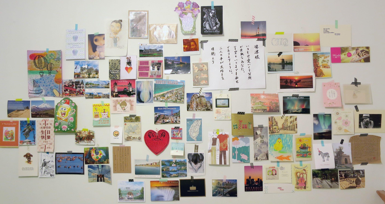 Just felt that my wall is like a Pinterest! lol