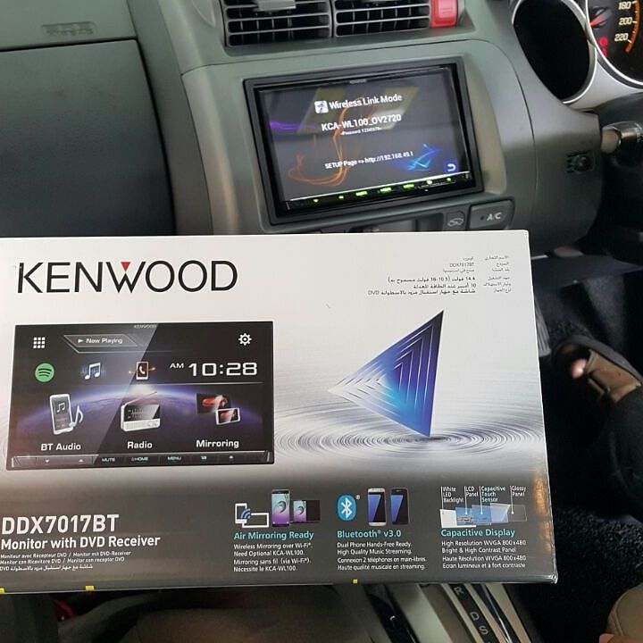 Latest Universal 2 DIN with HDMI capability from kenwood the