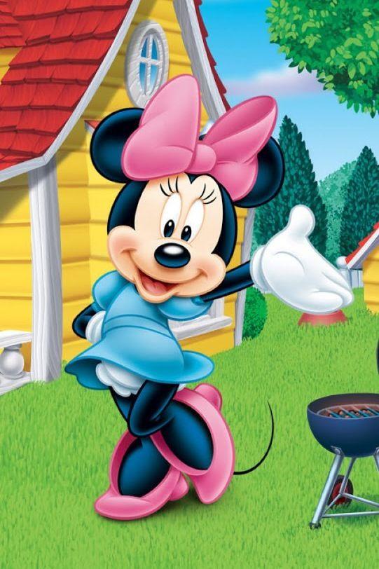 Minnie mouse vestido azul
