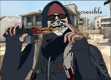 Cs Go Anarchist Attack Dust 2.png by acsesible Марвел