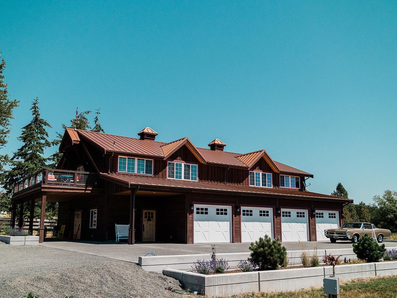 Barns with Living Quarters - Denali Barn - Barn Pros in ...