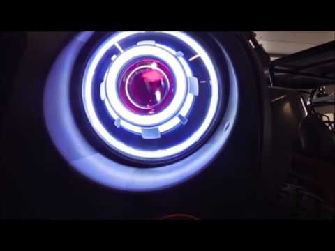 Projector Headlights LED Demon Eye Headlights G | Led Lights | Led Light  Bar | Lifetime Led Lights