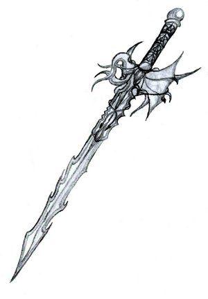 Sadrick Taki On Deviantart Sword Drawing Cool Swords Fantasy Sword