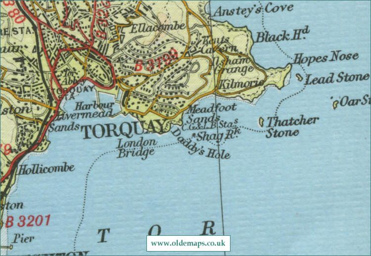 Torquay England Map.Torquay Map Places I Have Been Pinterest Map Places And England