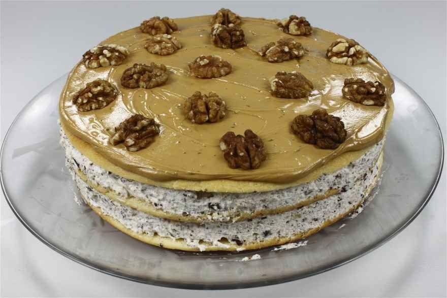 Svinklov Valnoddelagkage Opskrift Dessert Laekre Kager Bagvaerk