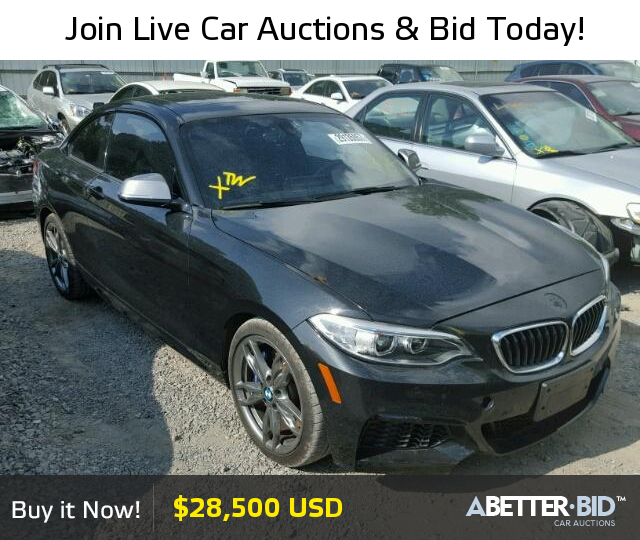 Salvage 2016 BMW M2 For Sale