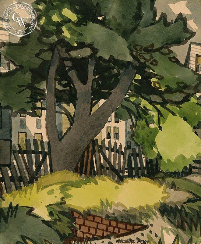 George Post (1906-1997) - Picket Fence