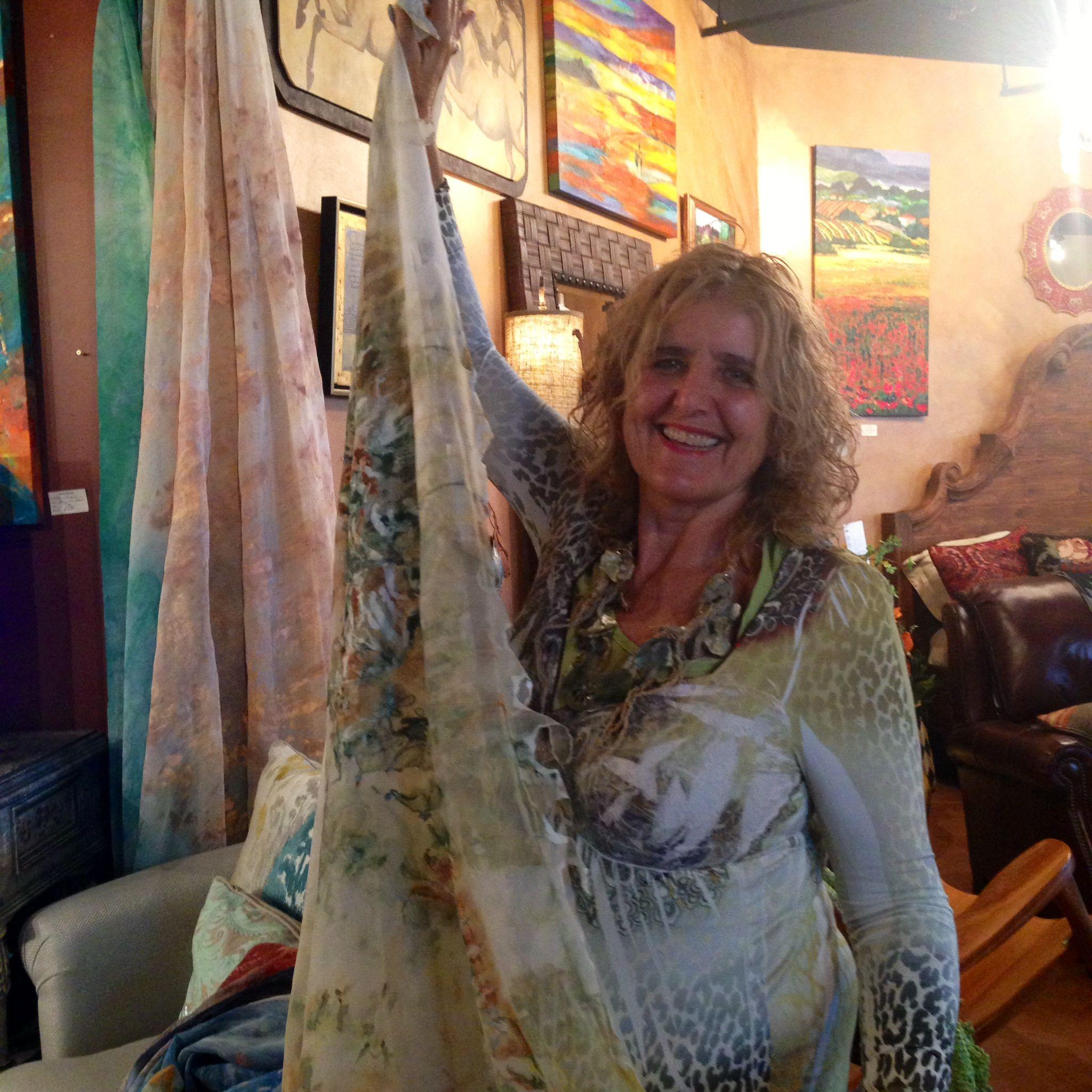 Local Tucson Artist Julie Halstead Paints Gorgeous Hand Painted
