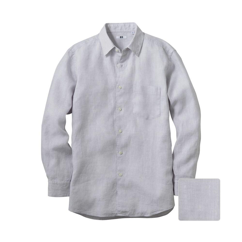 c0d1bd12df  TA - Light grey dress shirt (remove pocket )  39.90 Grey Shirt Dress