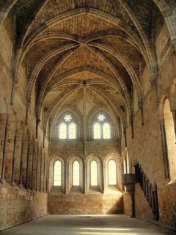 Monasterio Cisterciense De Santa María De Huerta Soria España Templos