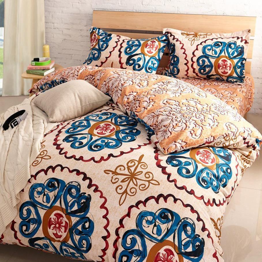 Sand Luxury Bedding Set Duvet Cover Bed Sheet Linen Set