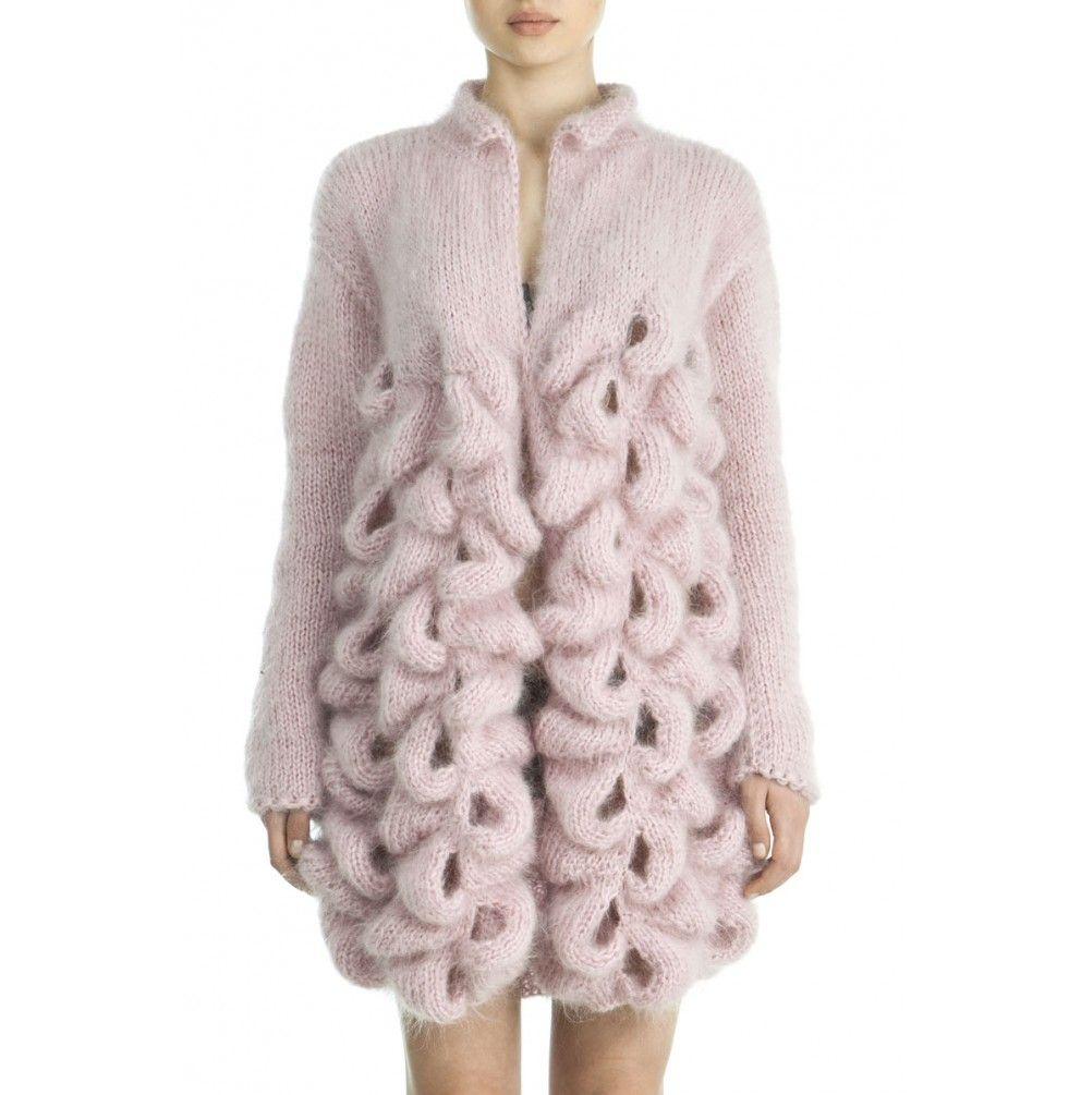 Knitting Pattern Rabbit Ears : Rabbit ears cardigan lalo cardigans knit crochet
