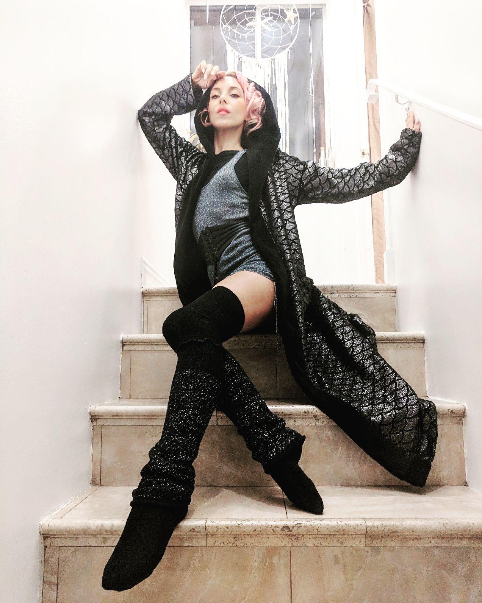 Unisex Luxury Long Mermaid Robe Fashion, Mermaid, Long robe