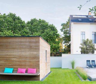 Moderne Gartenhütte gartengestaltung inspirationen