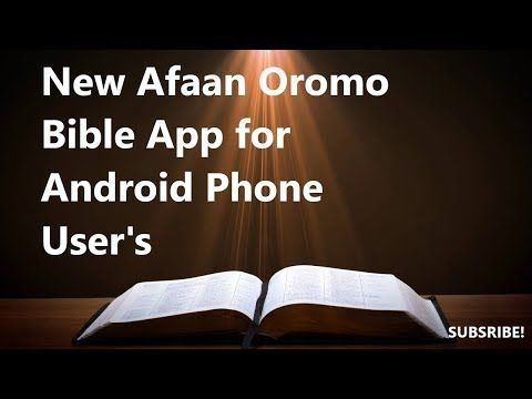 Download Holy Bible in Afaan Oromo for PC & Mac with