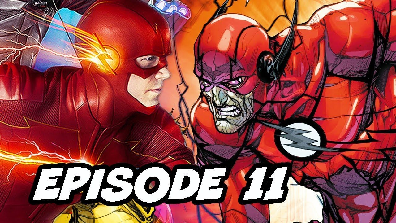The Flash Season 5 Episode 11 Negative Flash TOP 10 WTF and