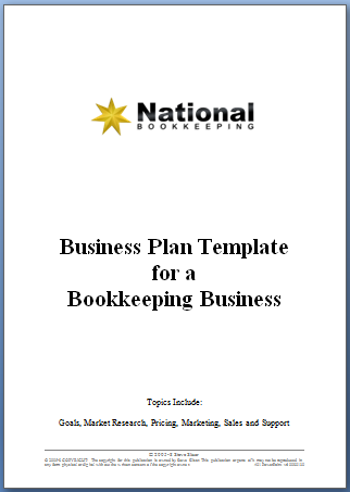 National bookkeeping business plan template business plan national bookkeeping business plan template friedricerecipe Image collections