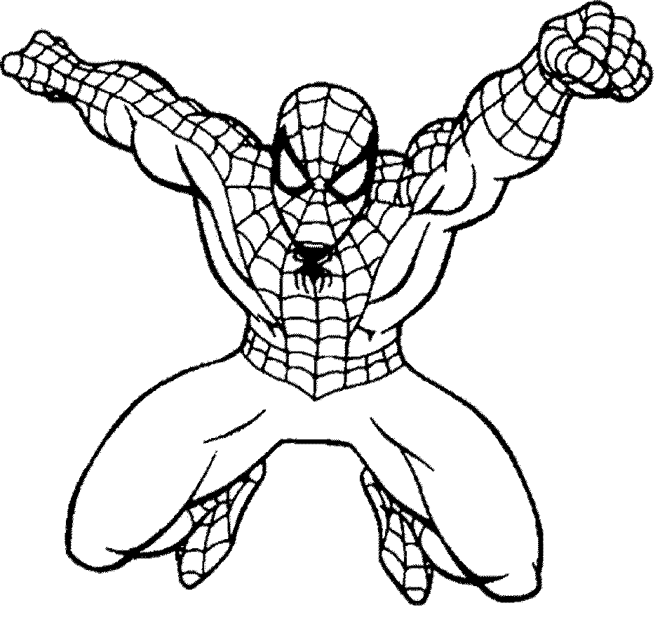 Pin by ColoringsWorld.com on Spiderman Coloring Pages