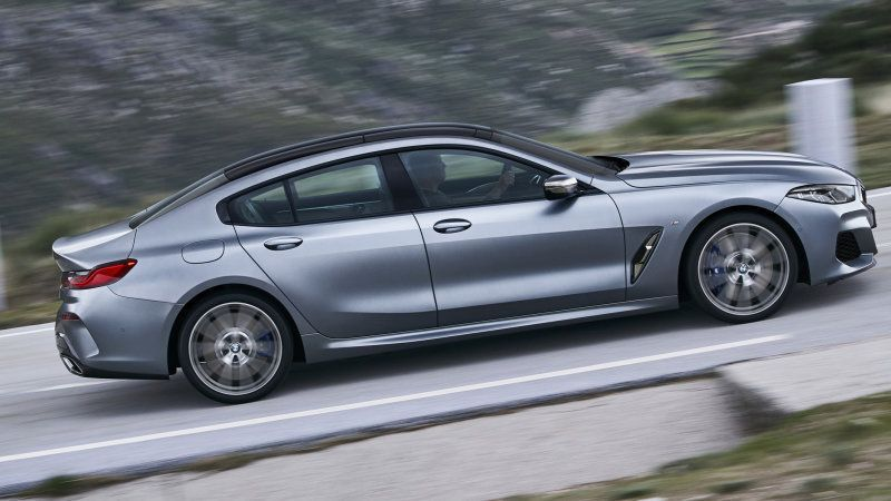 2020 Bmw 8 Series Gran Coupe Adds Two Doors And Hand Finished