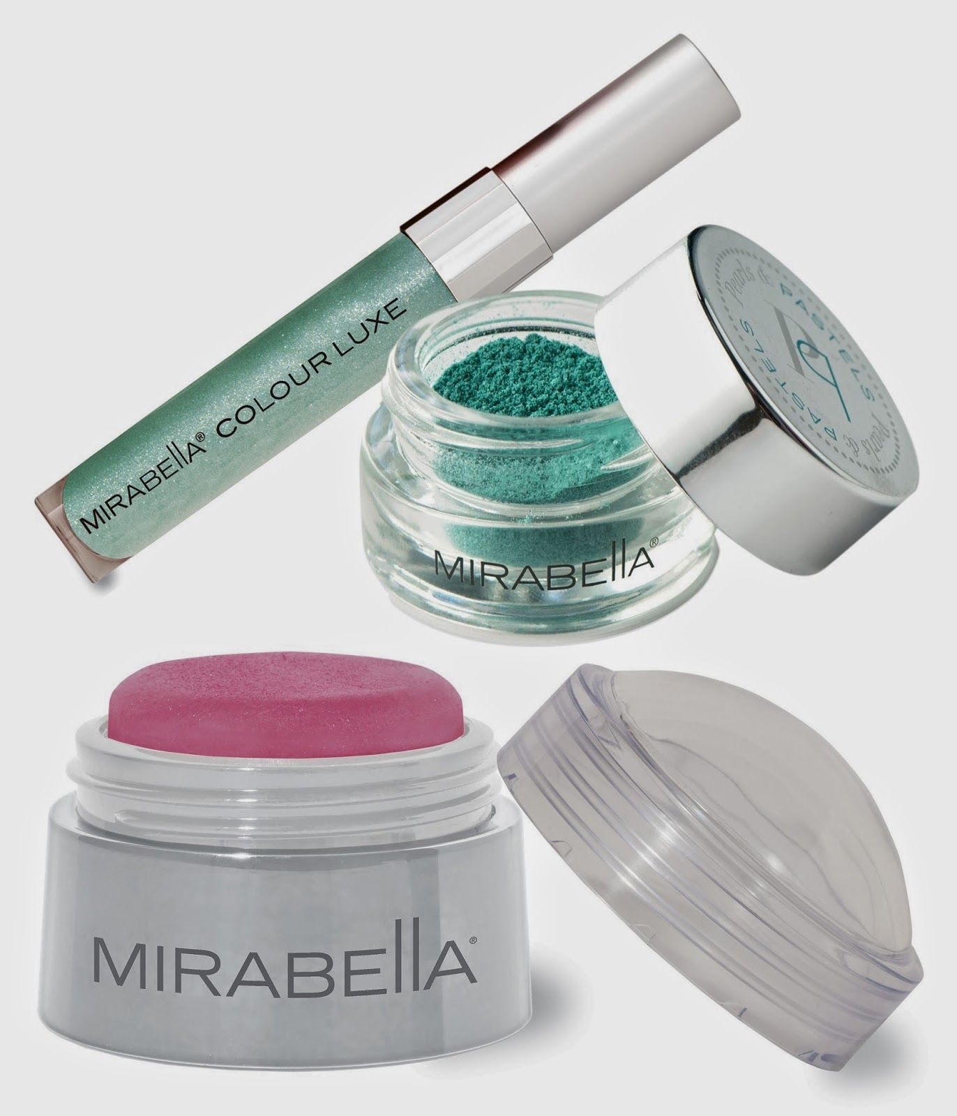 Pearls & Pastels Collection by Mirabella Beauty
