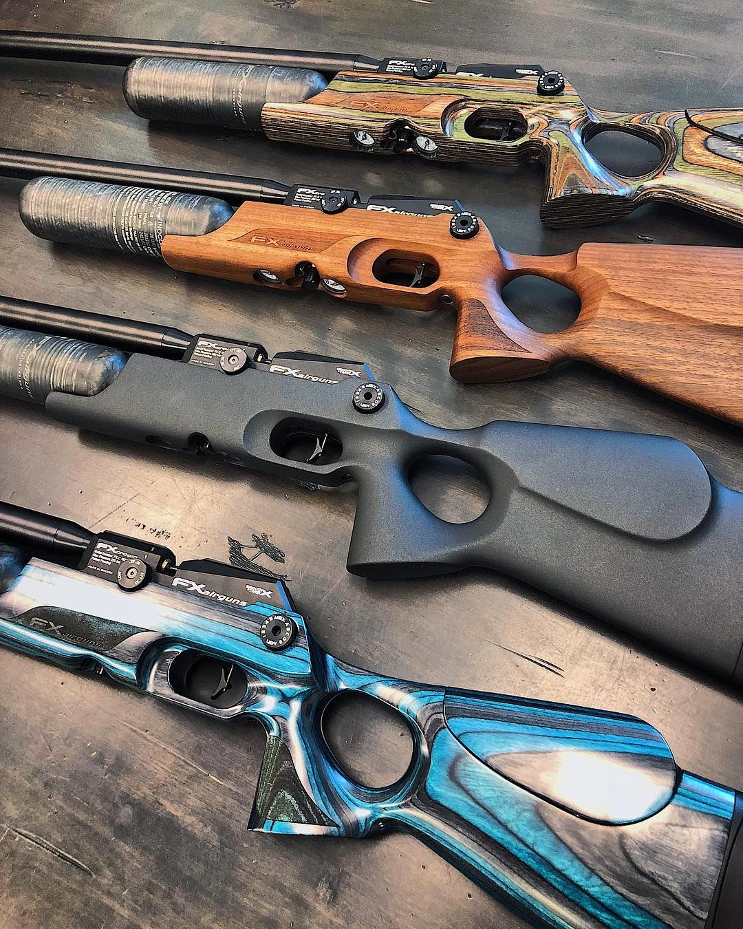 Which stock would you want on your FX Crown??   Green Walnut
