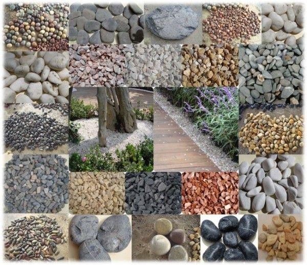 Jardines decorados con grava buscar con google ideas for Piedras de rio para jardin
