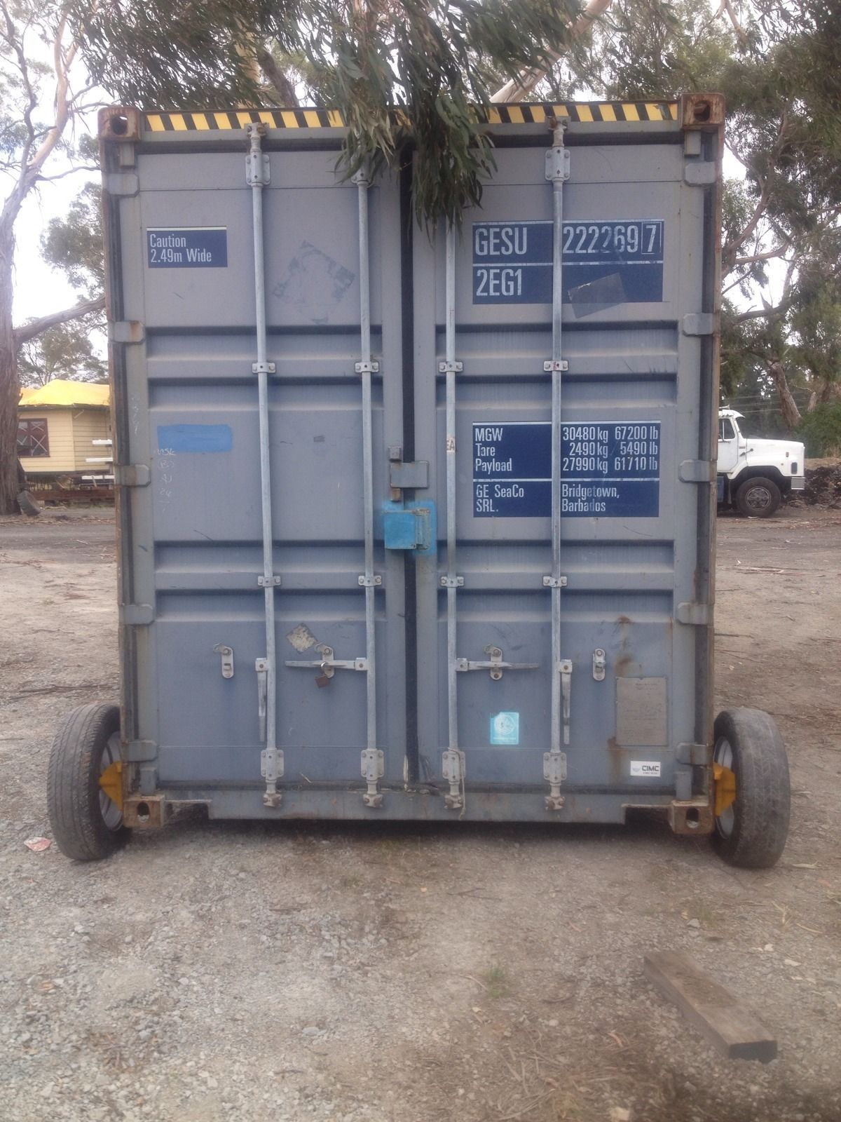 shipping container wheels in industrial material handling shipping containers ebay tags1. Black Bedroom Furniture Sets. Home Design Ideas