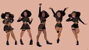Schwarze Tänzerinnen