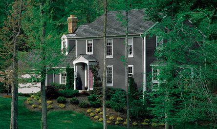 Contemporary Colonial Exterior Paint Colors For Homes