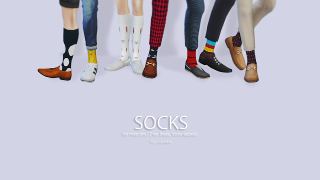 Sims 4 CC's - The Best: Socks by Lilo Sims