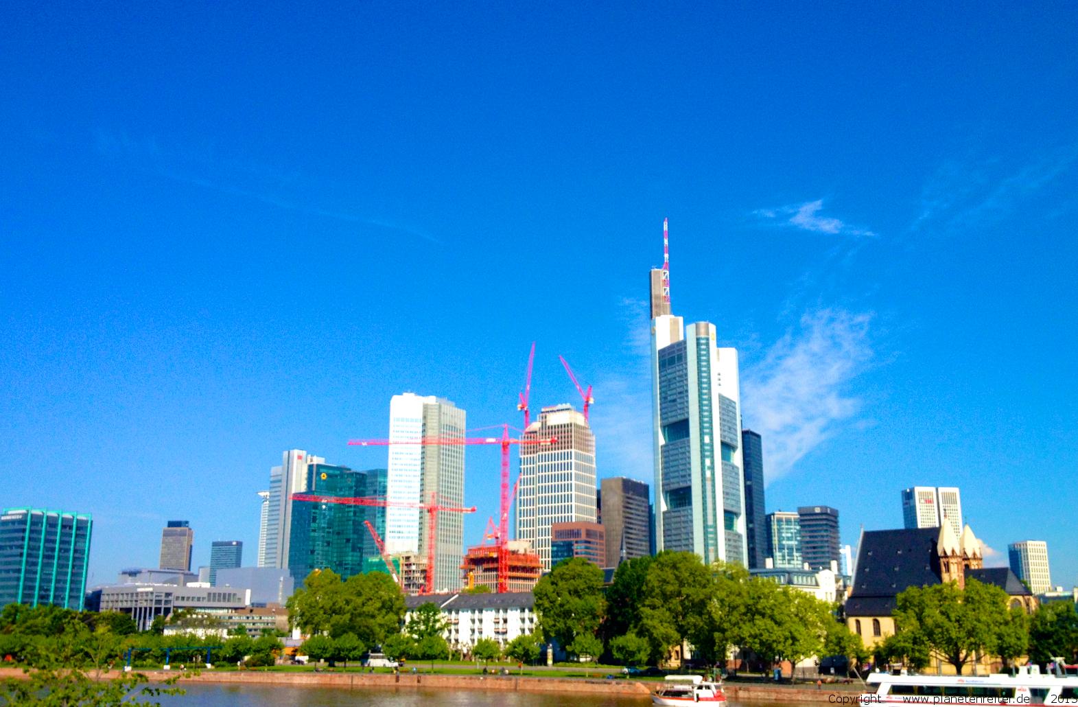 Frankfurt im Sommer