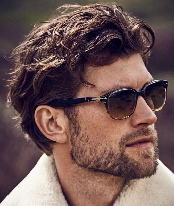 Medium Length Haircuts For Men With Thick Wavy Hair