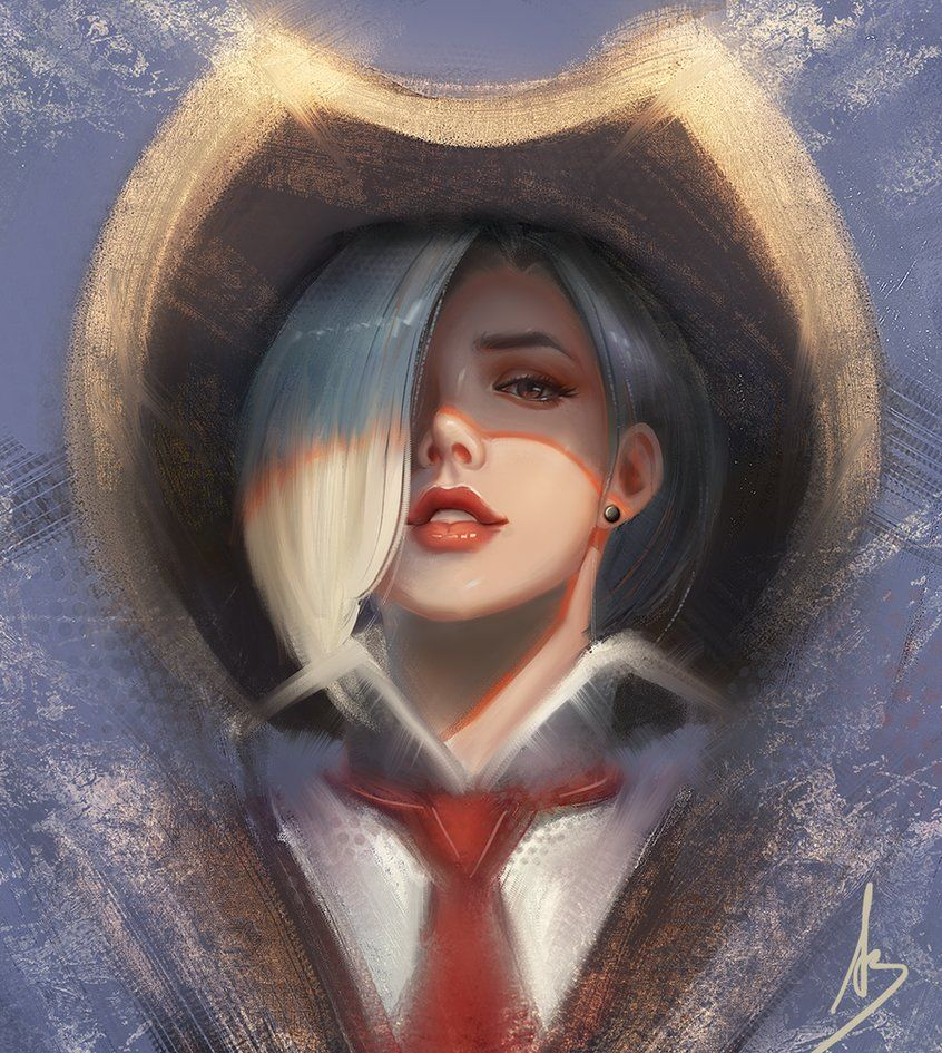 See through nose piercing  Pin by Jake Lenin on Overwatch  Pinterest  Overwatch Deviantart