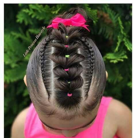 hairstylesrecogido peinados de niña Pinterest Peinados de - peinados de nia faciles de hacer