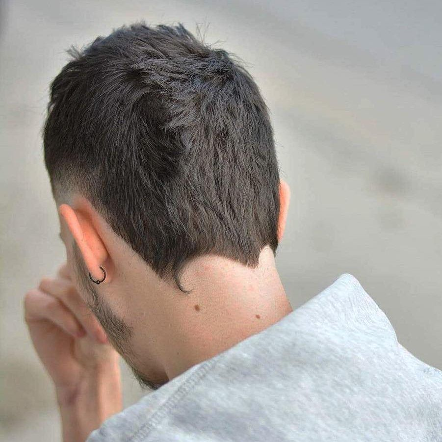 Neckline Hair Designs The Nape Shape 22 Cool Styles Mens Haircuts Short Haircuts For Men New Men Hairstyles
