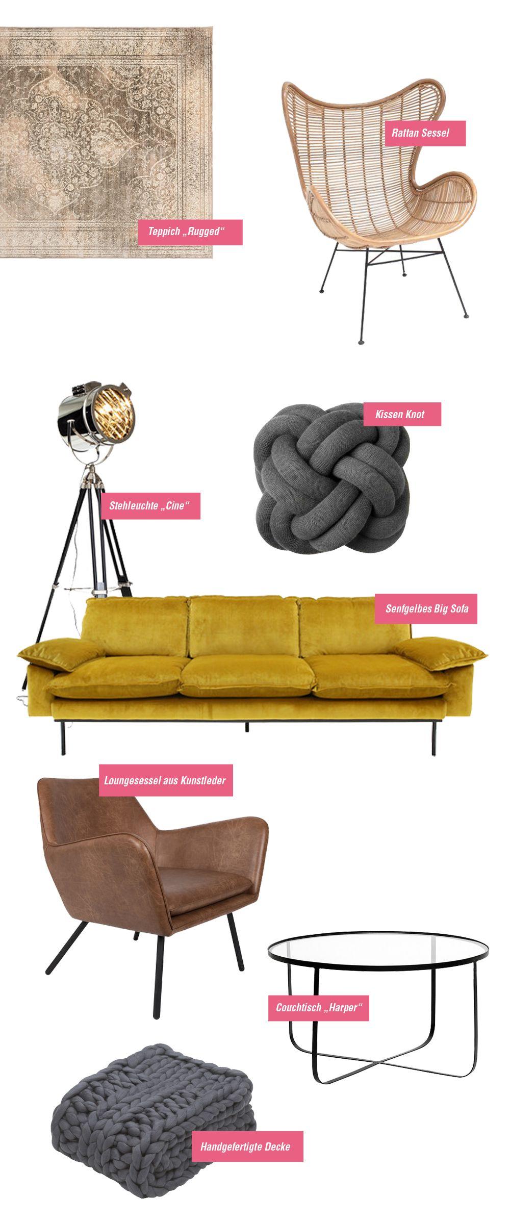 Interior wish list u inspiration für das wohnzimmer yellow