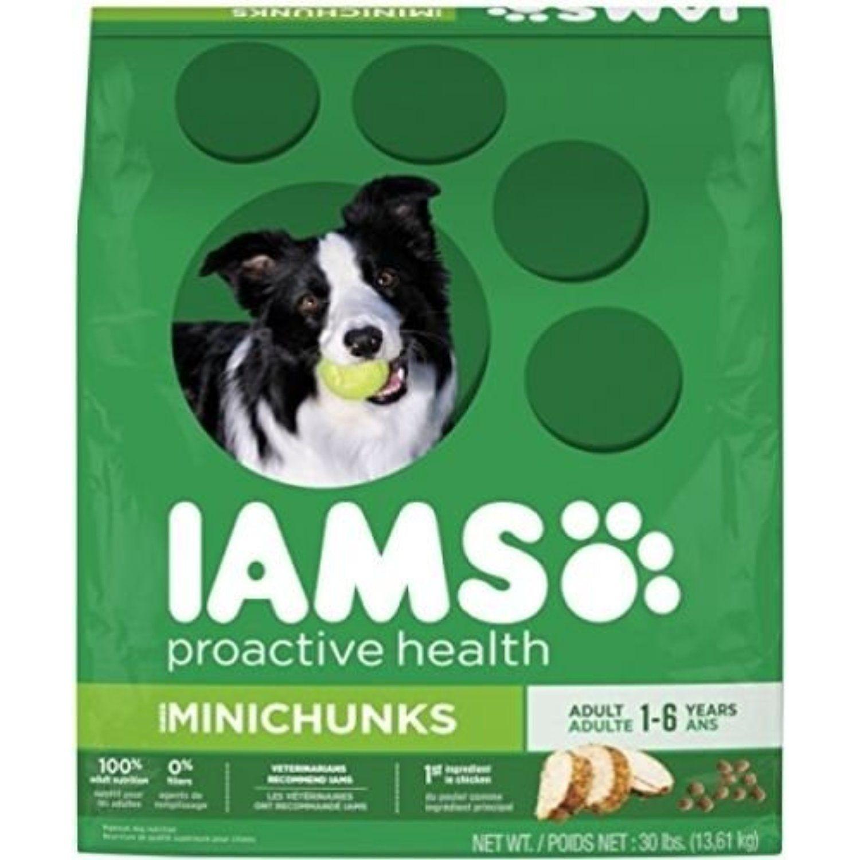 Iams proactive health adult minichunks dry dog food if