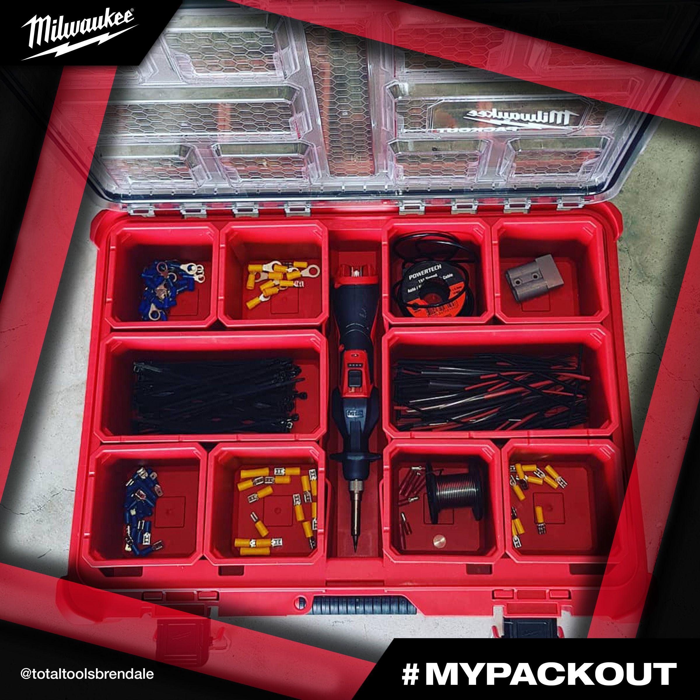 Packout Modular Storage System Photo Credit Totaltoolsbrendale New Milwaukee Tools Milwaukee Tools Milwaukee Tool Box