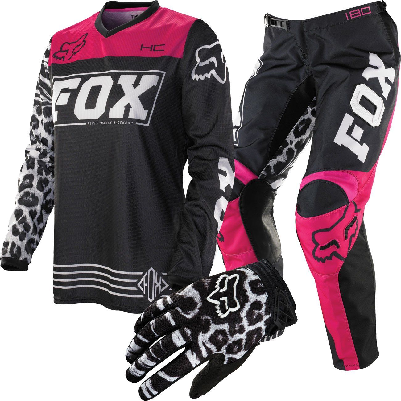 Fox Racing Hc180 Womens Package Deal - Chaparral -5755