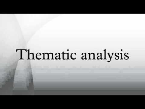 Thematic Analysi Youtube Dissertation
