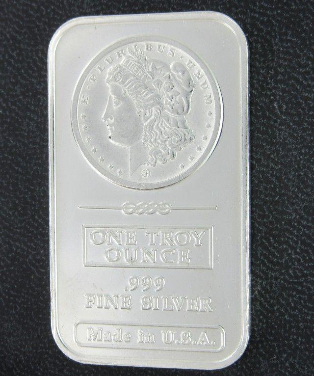 Morgan 999 Pure Silver Bar Silver Bars Silver Investing Silver Bullion