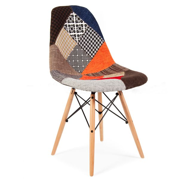 chaise patchwork style - Chaise Patchwork Eames