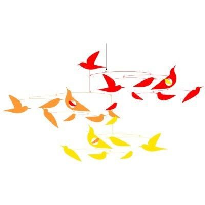 Birds in Harmony mobile at Clover