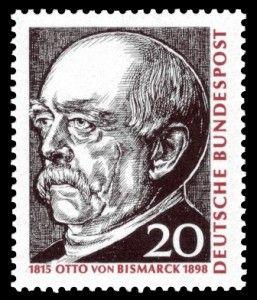 Otto Von Bismarck Auf Briefmarke Von 1965 Francobolli Del Mondo