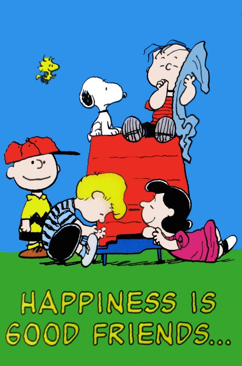 Happiness Is Good Friends Flag Snoopn4pnuts Com Snoopy Snoopy Love Snoopy Quotes