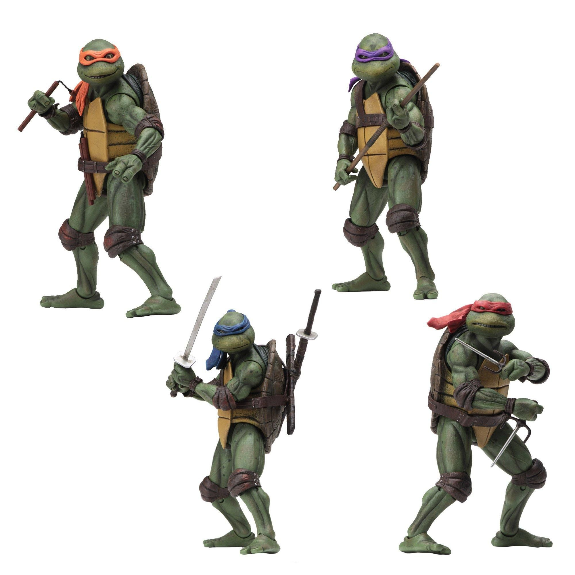 tmnt movie action figures