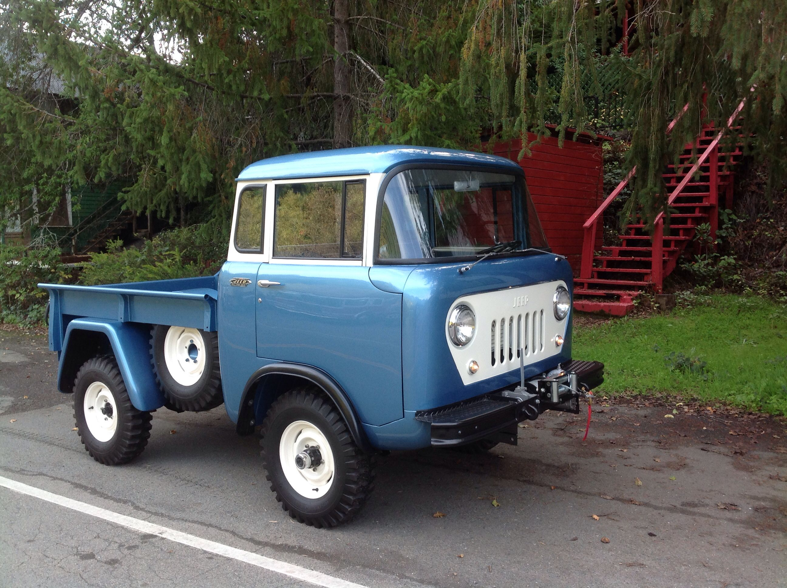 1963 JEEP FC 150 4 speed w PTO Restored 2013 Willys America For