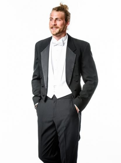 Tux With Tails For Your Formal Wedding Black Tuxedo Rental