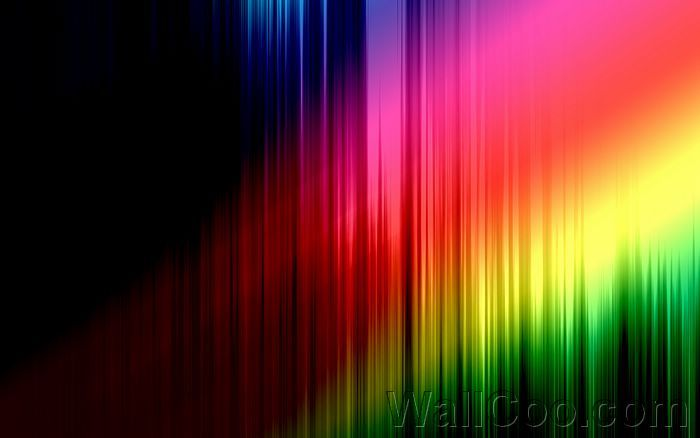 Rainbow Colors Abstract Background Desktop Wallpaper Design