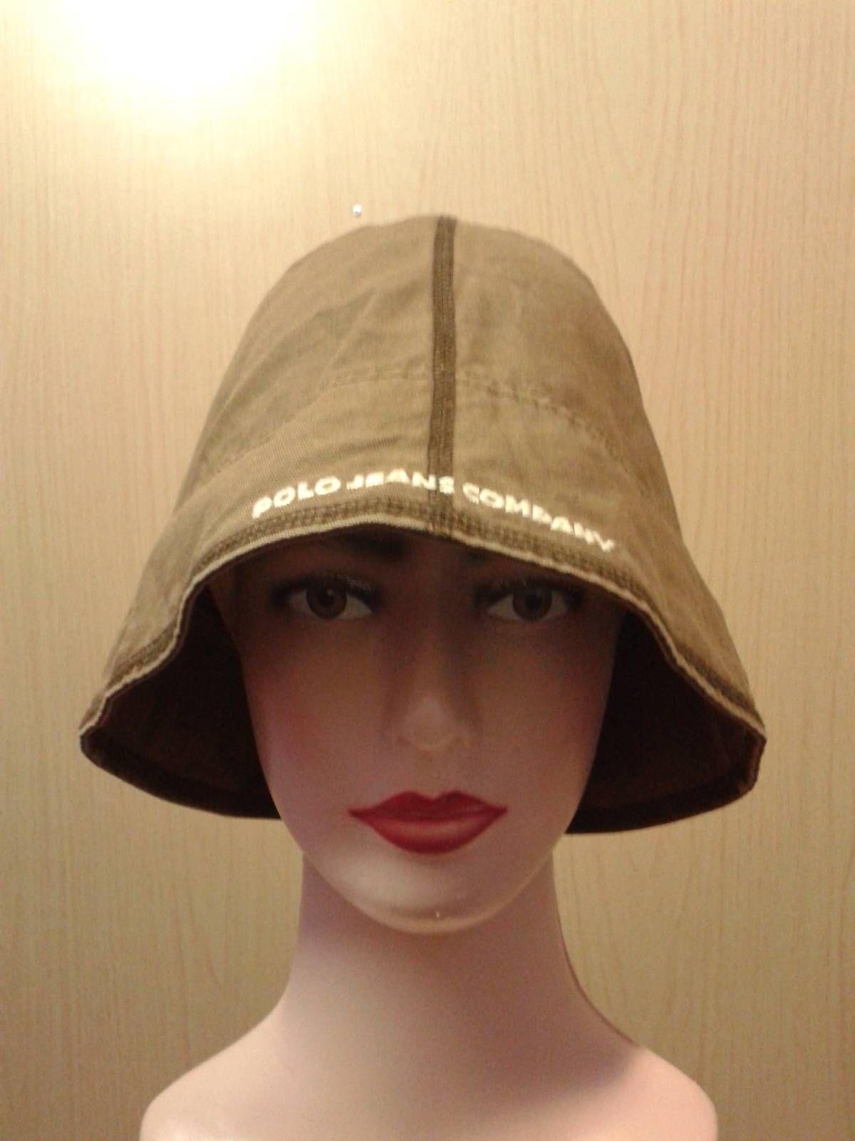 8acad0e5d82 Searching for Vintage 90s Polo jeans ralph lauren brown bucket hat cap   We ve